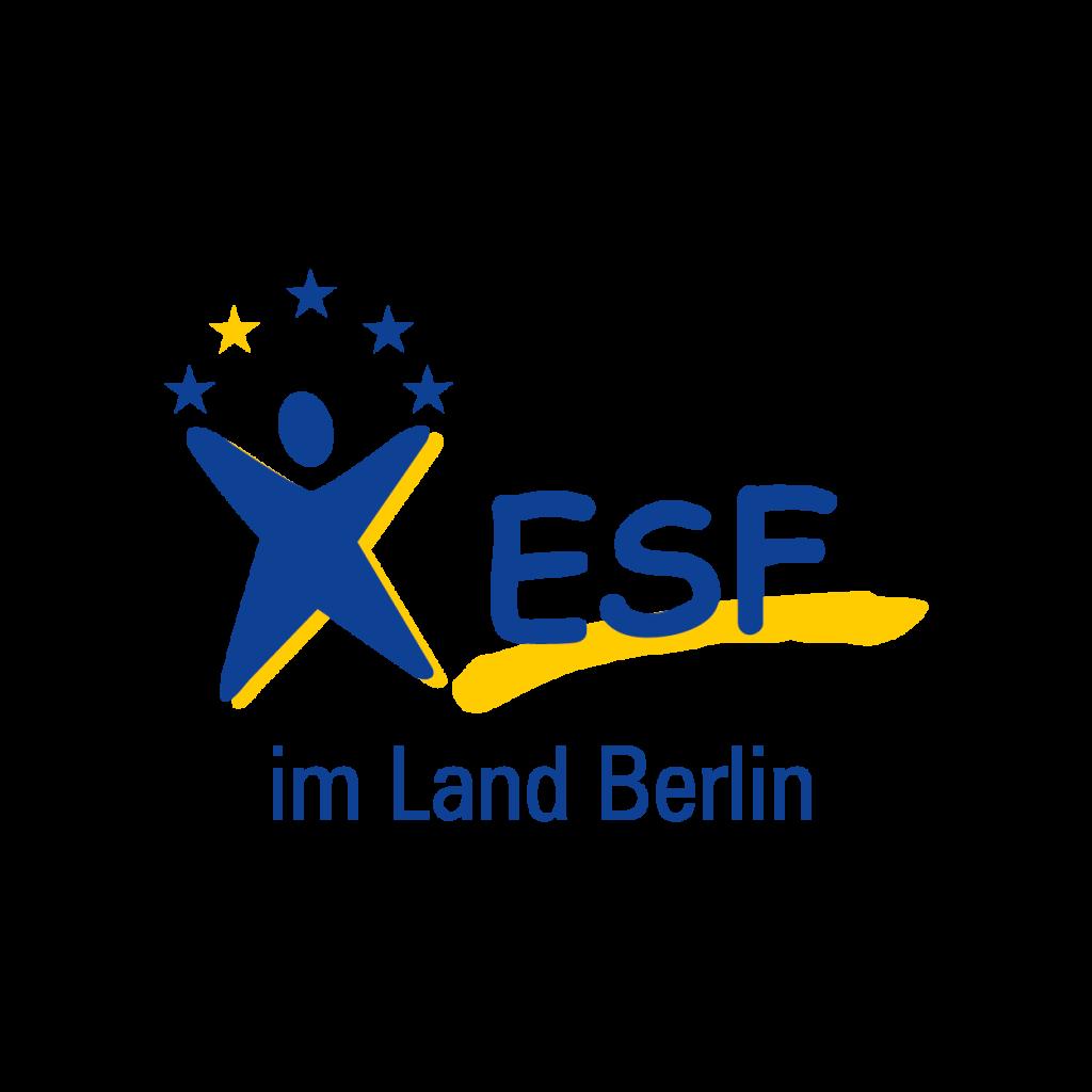 partner logo, Europäischer Sozialfonds im Land Berlin